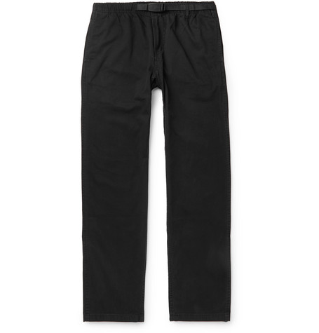 Gramicci Belted Cotton-Twill Trousers