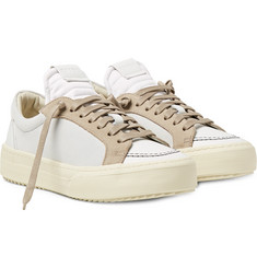 Rhude V1 Leather and Suede Sneakers