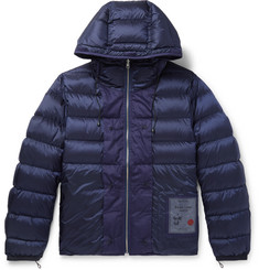 Ten C Slim-Fit Reversible Quilted Shell Hooded Down Liner
