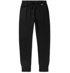 Zimmerli Slim-Fit Fleece-Back Stretch-Jersey Sweatpants