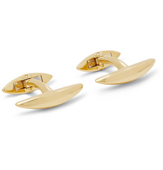 Shaun Leane Arc Gold-Plated Cufflinks