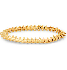 Shaun Leane Serpent's Trace Slim Gold-Plated Bracelet