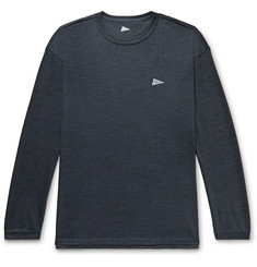 Pilgrim Surf + Supply Davis Mélange Merino Wool-Jersey T-Shirt
