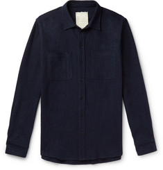 Tempus Now Wool and Cotton-Blend Shirt