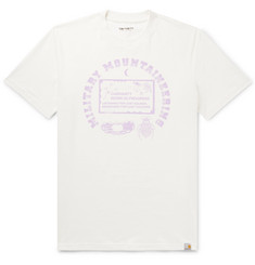 Carhartt WIP Printed Cotton-Jersey T-Shirt