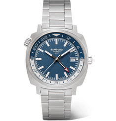 Bamford Watch Department - GMT Automatic 40mm Stainless Steel Watch