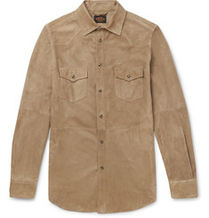 Tod's Suede Western Shirt