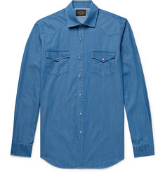 Tod's - Slim-Fit Garment-Dyed Cotton-Chambray Shirt