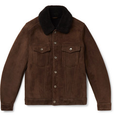 Valstar Shearling Trucker Jacket