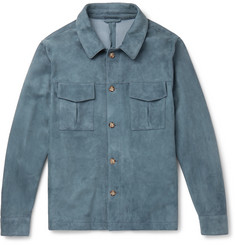 Valstar Unlined Suede Shirt Jacket