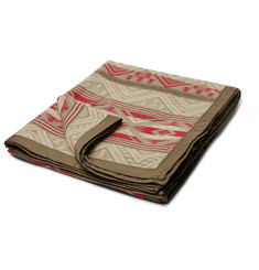 RRL - Cotton and Wool-Blend Jacquard Blanket