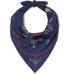 RRL Printed Cotton Bandana