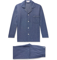 Emma Willis Prince of Wales Checked Cotton Pyjama Set