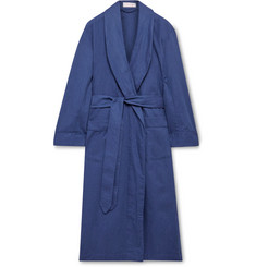 Emma Willis Cotton-Twill Robe