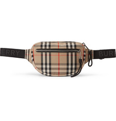 Burberry Checked Canvas Belt Bag