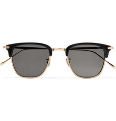 Eyevan 7285 - Square-Frame Acetate and Gold-Tone Sunglasses