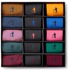 15-pack Cotton-blend Socks - Multi
