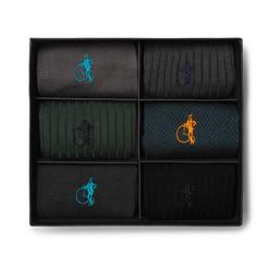 Six-pack Cotton-blend Socks - Multi