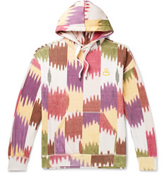 Isabel Marant Viley Printed Fleece-Back Cotton-Jersey Hoodie
