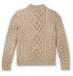 Isabel Marant Macey Merino Wool Cable Knit Sweater