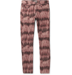 Isabel Marant Jack Slim-Fit Tie-Dyed Denim Jeans