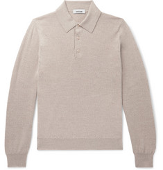 Saman Amel - Merino Wool Polo Shirt