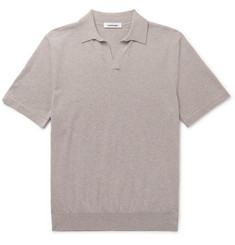Saman Amel Slim-Fit Merino Wool Polo Shirt