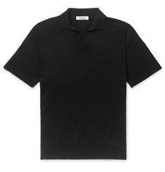 Saman Amel Slim-Fit Cotton Polo Shirt