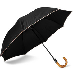 Paul Smith Wood-Handle Striped Umbrella