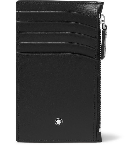 Meisterstück Leather Zipped Cardholder by Montblanc