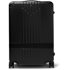 Montblanc #MY4810 Leather-Trimmed Polycarbonate Suitcase