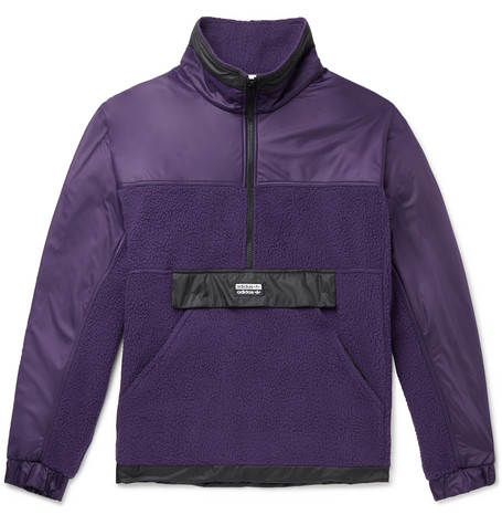 adidas Vocal Fleece Half Zip Jacket