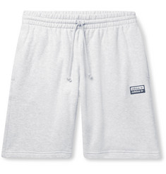 adidas Originals Mélange Loopback Cotton-Jersey Drawstring Shorts