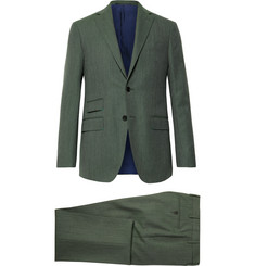 Sid Mashburn Grey-Green Kincaid No 3 Wool Suit