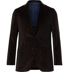 Sid Mashburn - Chocolate Kincaid No 1 Cotton-Corduroy Suit Jacket