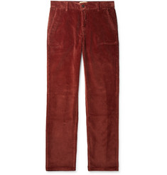 Purdey Slim-Fit Cotton-Needlecord Trousers