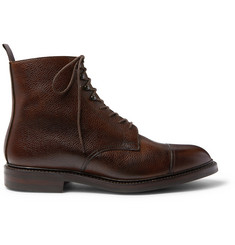 James Purdey & Sons Full-Grain Leather Boots