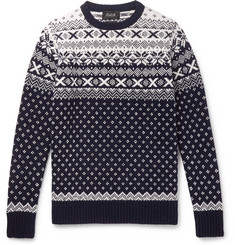 Howlin' - Lawrence Fair Isle Wool Sweater