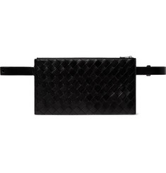 Bottega Veneta Intecciato Leather Belt Bag