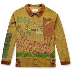 BODE Hand-Illustrated Cotton-Corduroy Jacket