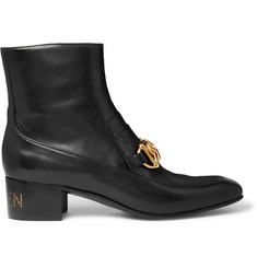 Gucci Horsebit Leather Boots