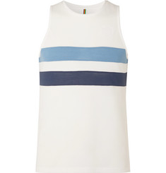 Iffley Road Lancaster Slim-Fit Striped Drirelease Piqué Tank Top