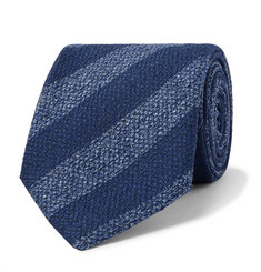 Charvet - 7.5cm Striped Silk Tie