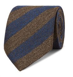 Charvet 7.5cm Striped Silk Tie