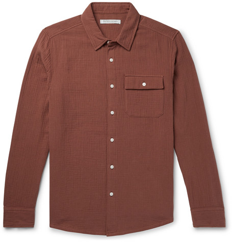 Ocotillo Textured Organic Cotton Shirt by Outerknown