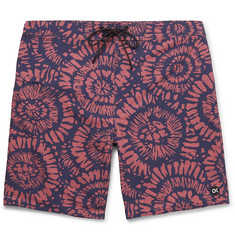 Outerknown Nomadic Long-Length Printed Swim Shorts