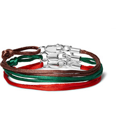 Rubinacci Set of Three Silk Bracelets