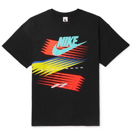 + Atmos Nrg Logo Print Cotton Jersey T Shirt by Nike