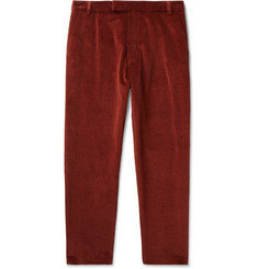Deveaux Slim-Fit Cotton-Blend Corduroy Suit Trousers
