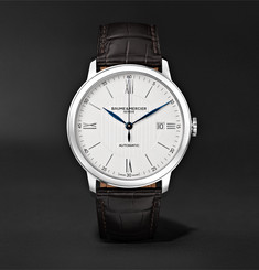 Baume & Mercier Classima Automatic 40mm Stainless Steel and Alligator Watch, Ref. No. M0A10214